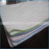 Cubiertas cuadradas materiales sanas usadas hotel del amortiguador de la caja de la almohadilla de la tela de algodón
