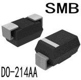 diodo Smbj7.5A del montaje de la superficie de 600W TV para la protección de circuito