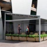 일요일 저항하는 철회 가능한 Pergola와 지붕 시스템