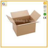 Contenitore su ordinazione di scatola di trasporto del documento ondulato del Brown