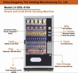 Pour Malaisie Snack & Drinks Combo Vending Machines LV-205L-610A