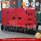 gruppo elettrogeno diesel elettrico di Weichai della turbina silenziosa 100kw/125kVA