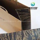 Uso lacónico del bolso del regalo del papel de Brown de la impresión para la promoción de la compañía