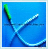 Producto hospitalario más vendido de catéter de estómago de PVC transparente con punta redondeada atraumática
