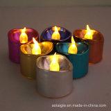 لون رخيصة اختياريّة عديم لهب [لد] شمعة إلكترونيّة