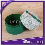 Коробка подарка пробки цилиндра OEM, коробка пробки картона упаковывая