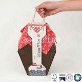 Nuevo rectángulo de regalo del embalaje del papel del condimento del diseño
