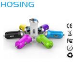 Заряжатель USB с заряжателем автомобиля USB Univeral логоса микро- двойным