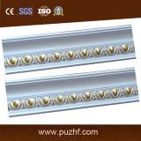 -El uso común PU espuma de poliuretano tallada Corona / Cornisa de moldeo para la decoración de interiores