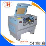 Pouca máquina de estaca feita sob medida do laser com plataforma de trabalho feita sob encomenda (JM-640H)