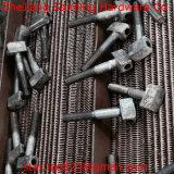 Culata en T con los tornillos del orificio/los tornillos especiales