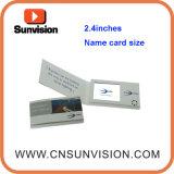 affichage à cristaux liquides visuel Namecard de carte de visite professionnelle du visite 2.4inch