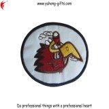 Marchio del ricamo del distintivo della mazza del bordo di Overlock per gli indumenti (YH0EB065)
