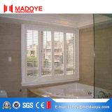 Elektrisches venetianisches Aluminiumluftschlitz-Fenster mit isolierendem Glas