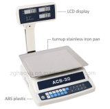 Escala de plataforma electrónica del precio de Haoyu 30kg