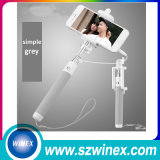 Bâton de câble mini Selfie par bâton de 2016 sans fil pliable Selfie