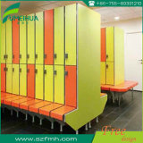 Casier de banc/casier forme des vêtements Lockers/HPL Z