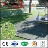 Grama artificial interna e ao ar livre personalizada alto densidade para o balcão