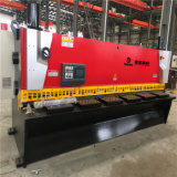 QC11k 6*4000 유압 CNC 단두대 절단 깎는 기계