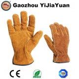 Кожаный перчатки работы водителей безопасности