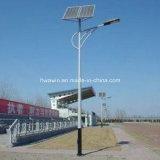 sistema solar de la luz de calle de los 7m con la lámpara de 40W LED