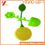 Tamiz limoniforme del té del silicón del silicón del grado de Infuser /Food del té del silicón del diseño encantador