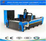 Tableau à rendement élevé de découpage de machine de découpage de commande numérique par ordinateur de laser de fibre