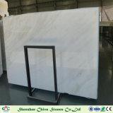 タイルまたはカウンタートップまたは虚栄心の上または壁ののためのロンドンの白い大理石の平板タイル