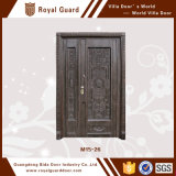 Индийская главная дверь конструирует оптовую продажу двери искусствоа фронта входа мамы и сынка в Китае