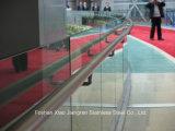 Balaustra di vetro dell'acciaio della scala del corrimano dell'acciaio inossidabile 316