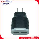 Lader van de Reis van de Telefoon van de Lader USB de Mobiele met 2 Dubbele USB