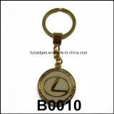 Münzen-Form-Schlüsselring, Karikatur-Schlüsselkette (GZHY-KA-006)
