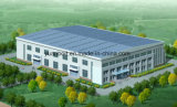 PU EPS 샌드위치 위원회 지붕과 벽을%s 가진 산업 강철 작업장 차고