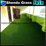 gramado sintético 160stitch da grama do jardim de 25mm
