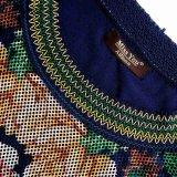 Платье женщин сетки низкой цены Miss Вы Ailinna 305322 черное флористическое