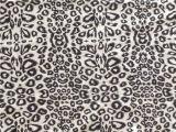 Напечатанный Cdc шелка в картине леопарда