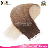 """20 """" 50g 100g 613# blondes Remy Band Brasilianer-Menschenhaar-geraden dem Stück in der Haar-Haut-einschlagMenschenhaar-Extensions-100%"""