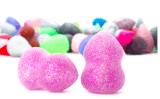 Spons van het Silicone van de borstel de Kosmetische 3D voor de Make-up van Schoonheidsmiddelen