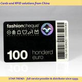 Cartões pré-imprimidos do PVC com código de barras/código da série Number/Qr