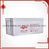 batería gris de la calidad confiable de 12V 200ah con 12 meses de garantía