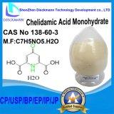 Нет 138-60-3 CAS моногидрата Chelidamic кисловочное для косметических сырий