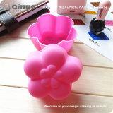 Bandejas Handmade do molde do bolo do produto comestível das formas FDA da flor de DIY
