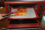 Hojas de galletas antiadherentes resistentes a altas temperaturas de silicona