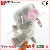 Fantoche de mão de elefante de pelúcia para crianças / crianças