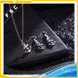 New Arrival Fashion Jewellery Anchor Earring Necklace Ensembles de bijoux