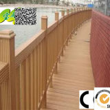Respetuoso del medio ambiente de madera compuesto plástico Esgrima