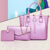 Hand Ladys Fashion 3PCS in Set Bags Leather Handbags Sy7822