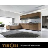 カスタムUの形のIndivisualの家(AP144)のための現代食器棚そして台所家具