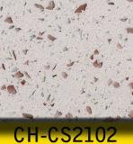 Pedra artificial de quartzo do formulário grande da laje para bancadas da cozinha
