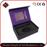 Caisse d'emballage de papier de cadeau de rectangle de film de contact pour les produits électroniques